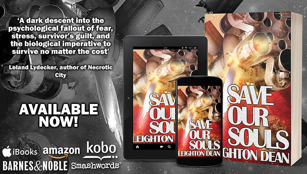 Save Our Souls a novel by Leighton Dean