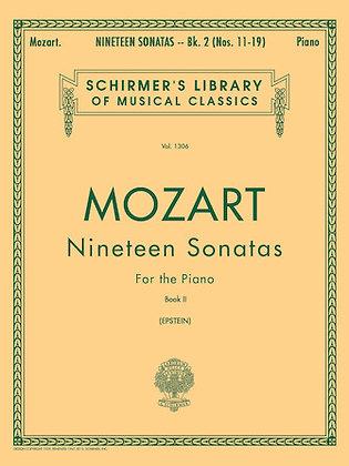 Mozart-19 SONATAS – BOOK 2