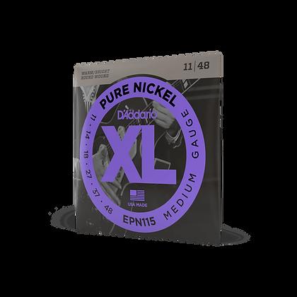 D'Addario XL Pure Nickel 11-48 Medium Strings