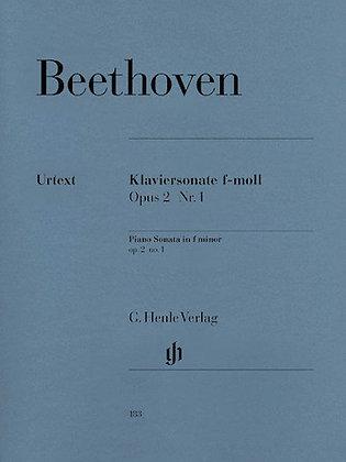 Beethoven-PIANO SONATA NO. 1 IN F MINOR, OP. 2