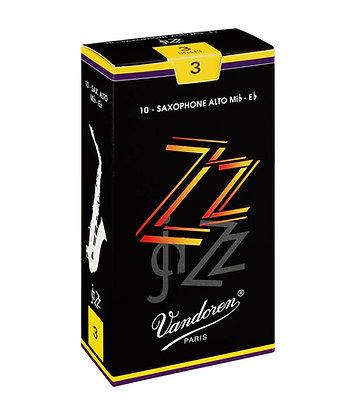Vandoren ZZ Alto Saxophone Reeds (each)