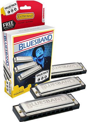 Blues Band 3pk Harmonicas