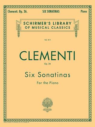 Clementi-SIX SONATINAS, OP. 36