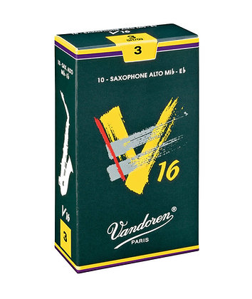 Vandoren V16 Alto Saxophone Reeds (each)