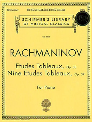 Rachmaninov-ETUDES TABLEAUX, OP. 33 & 39