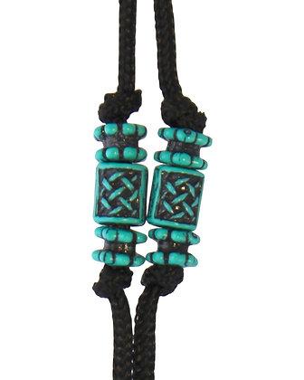 Turquoise Corded Uke Neck Strap