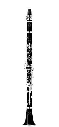 Buffet R13 Clarinet with Silver Keys