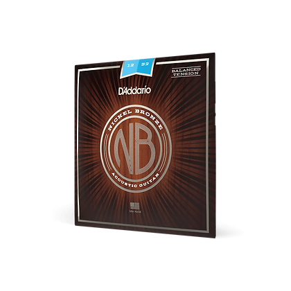 D'Addario Nickel Bronze 12-52 Balanced Tension Light Set