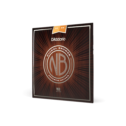 D'Addario Nickel Bronze 12-56 Light Top / Medium Bottom Set