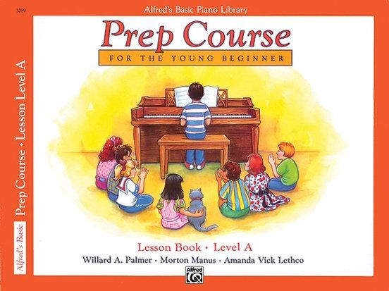 Alfred's Basic Piano Library Prep Course Lesson Books