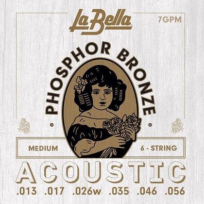 LaBella Acoustic Phosphor Bronze Set