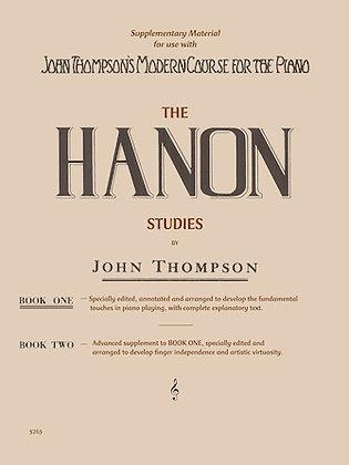 Hanon Studies-Book 1