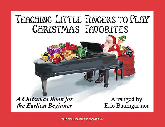 TEACHING LITTLE FINGERS TO PLAY CHRISTMAS FAVORITES – BOOK ONLY
