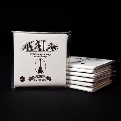 Kala Rectified Nylon Concert Ukulele Strings with Low G