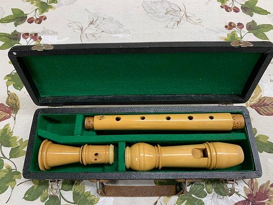 Vintage Moeck Baroque Alto Recorder