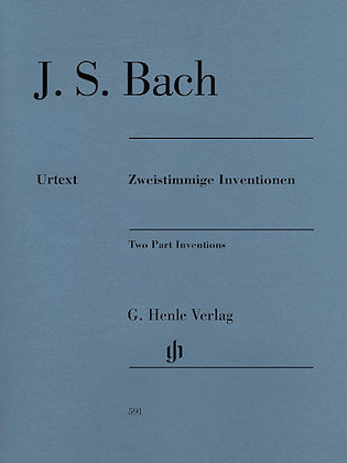 J.S. Bach-TWO PART INVENTIONS