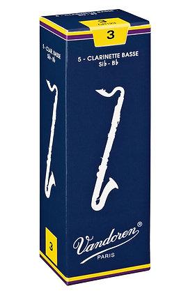 Vandoren Bass Clarinet Reeds (each)