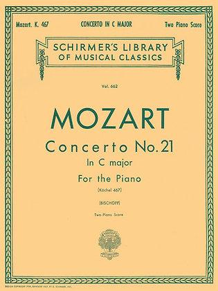 Mozart-CONCERTO NO. 21 IN C, K.467