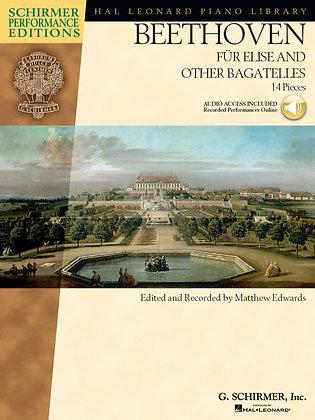 BEETHOVEN – FÜR ELISE AND OTHER BAGATELLES