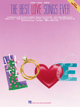 THE BEST LOVE SONGS EVER – 3RD EDITION