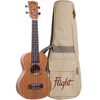 Flight Mahogany Concert Ukulele