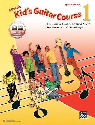 Alfred's Kid's Guitar Course Book 1