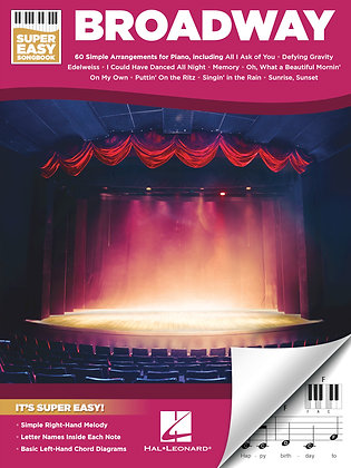 BROADWAY – SUPER EASY SONGBOOK