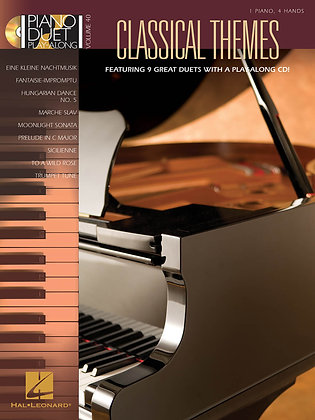 Classical Themes: Piano Duet Play-Along