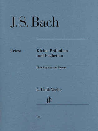 Bach Little Preludes and Fughettas