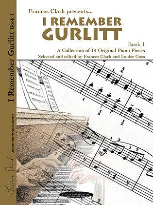 I Remember Gurlitt Book 1