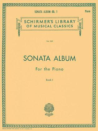 SONATA ALBUM FOR THE PIANO – BOOK 1
