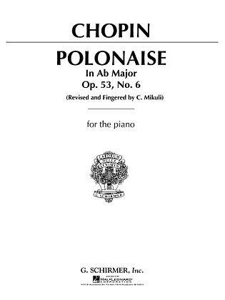 Chopin-POLONAISE, OP. 53 IN Ab MAJOR