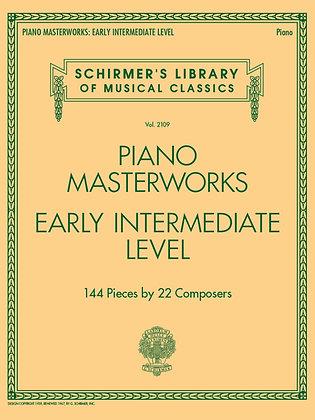 PIANO MASTERWORKS – EARLY INTERMEDIATE LEVEL