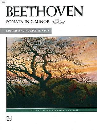 "Beethoven: Sonata in C Minor, Opus 13 (""Pathétique"")"