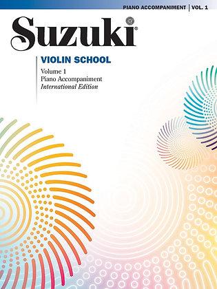 Suzuki Violin School PIANO ACCOMPANIMENT