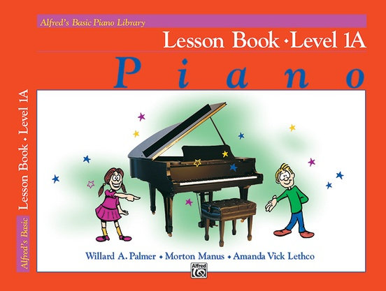 Alfred's Basic Piano Library Lesson Books