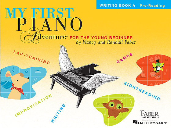 Faber My First Piano Adventure Writing Book
