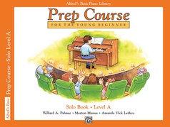 Alfred's Basic Piano Library Prep Course Solo Books