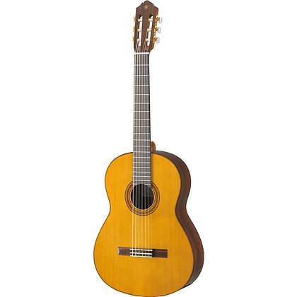 Used Yamaha Solid Western Red Cedar Top Classical Guitar