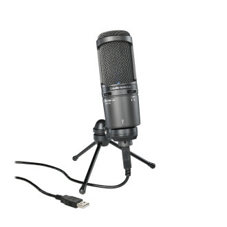 Home Studio USB Mic with Monitor