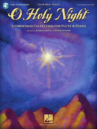 O HOLY NIGHT-Flute and Piano