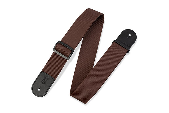 Levy's Brown Poly Guitar Strap