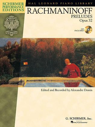 Rachmaninoff-Preludes, Opus 32