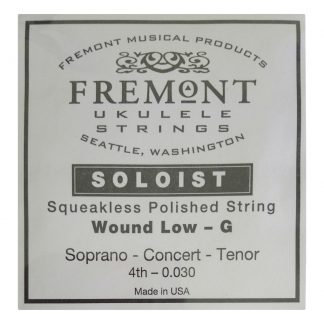Fremont SOLOIST Wound Single Low G Strin