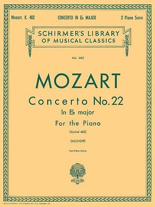 Mozart-CONCERTO NO. 22 IN EB, K.482
