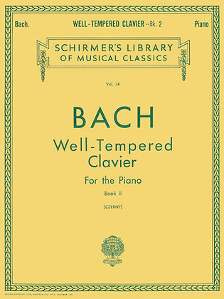 Well-Tempered Clavier Book 2
