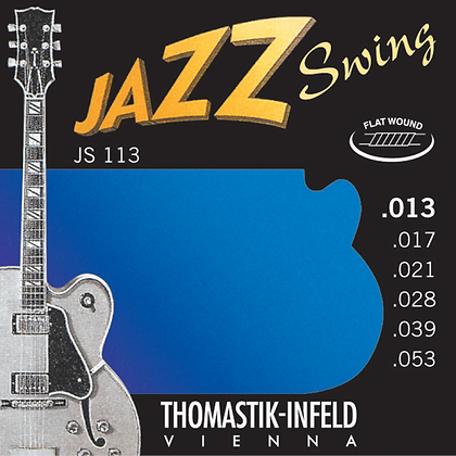Thomastik Jazz Swing Flat Wound Electric Guitar Strings