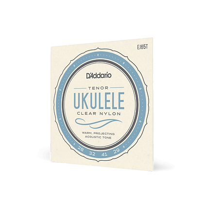 D'Addario Clear Nylon Tenor Ukulele String Set