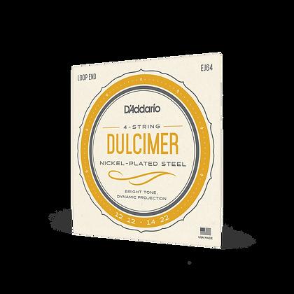 D'Addario DULCIMER 4-String Set