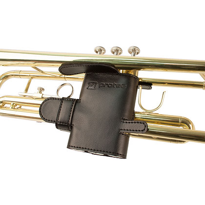 Protec Trumpet Valve Guard - Leather, 6-Point